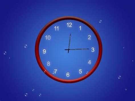 screenshot review downloads of demo abstract clock