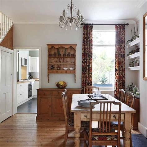 dining room terraced house house tour
