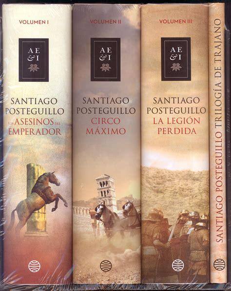libro triloga de trajano pack estuche triloga de trajano los asesinos del emperador circo mximo la legin perdida
