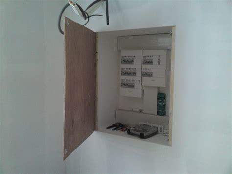 Placard Tableau Electrique by Porte De Placard Electrique Renovation D Une Fermette