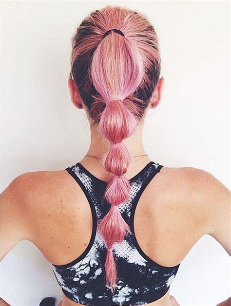 gymnastics hair ideas long hair backward roll 25 best ideas about gym hairstyles on pinterest gym