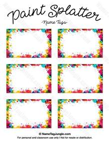 Door Name Tag Template by 25 Best Ideas About Printable Name Tags On