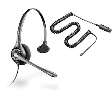 headphones for desk phone plantronics supra plus hw251n noise canceling a10 cord