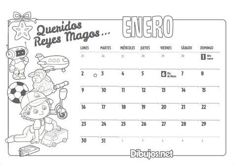 Imprimir Calendario 2017 Por Meses Calendario Infantil 2017 Para Imprimir Y Colorear