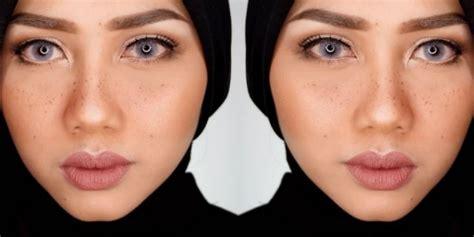 cara bikin alis natural ini vindy cara mudah bikin riasan freckles natural