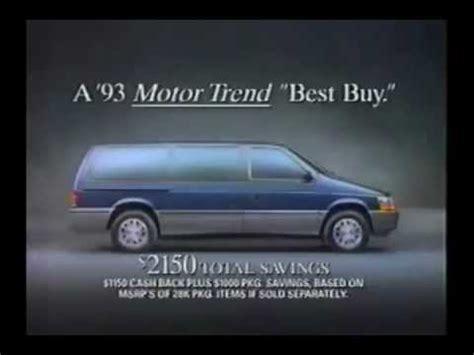 service manual car manuals free online 1993 dodge grand caravan interior lighting download