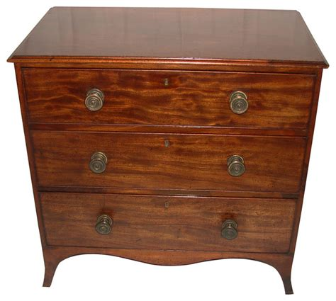 small mahogany chloe accent small english regency mahogany chest midcentury accent