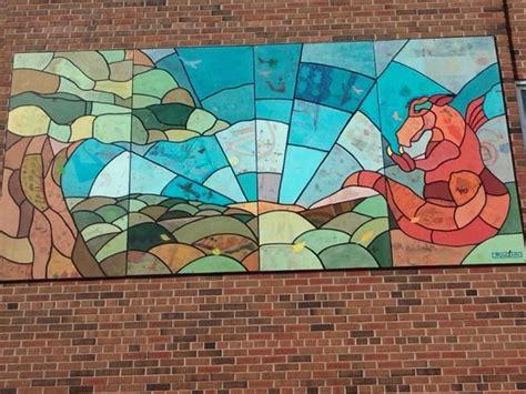st dunstan catholic school art mural project mural routes