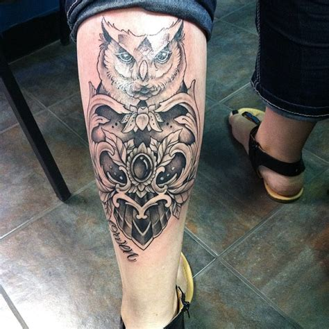 tattoos on calves for men 60 best calf tattoos for and