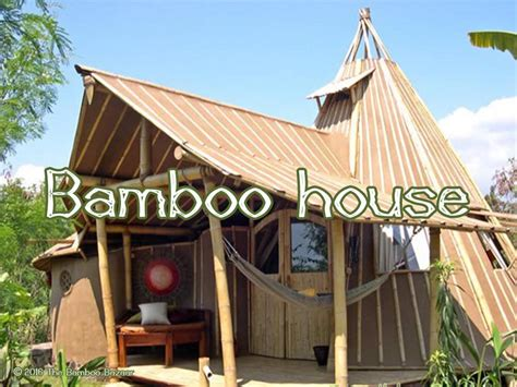 Bamboo house, complete advice to construct an eco friendly