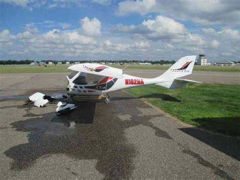 ct light sport aircraft 2008 flight design ctsw light sport 382 hours total time