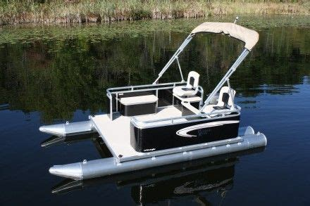 small boat pontoons 17 best images about mini pontoon boats on pinterest