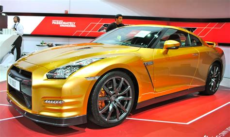 Melloy Suzuki 2013 Detroit Usain Bolt S Gold Nissan Gt R Front 7 8 View
