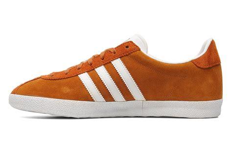 Adidas Gazel Navy In Orange adidas originals gazelle og trainers in orange at sarenza co uk 193015