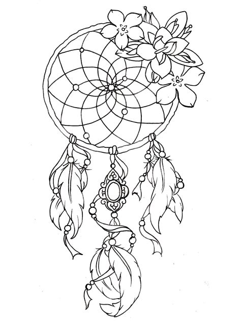 Dreamcatcher Tattoo Designs Tattoos Coloring Pages For Adults Justcolor Coloring Pages Of Tattoos