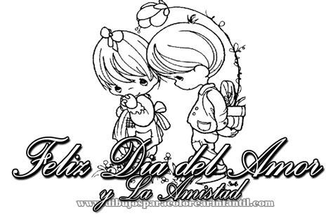 imagenes amor y amistad para colorear dibujos infantiles de fel 237 z d 237 a del amor y la amistad para