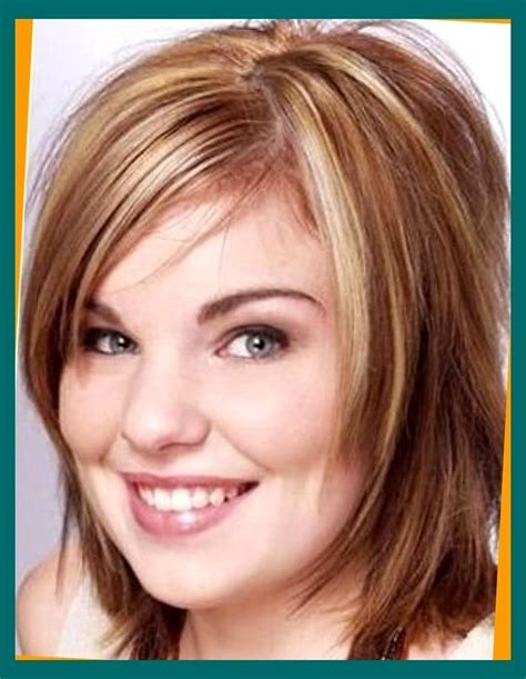 medium hair cut for a fat face to make hairstyles for fat faces 2018 hairstyles best