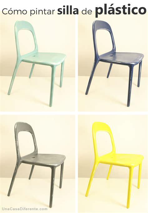 sillas plastico c 243 mo pintar sillas de pl 225 stico una casa diferente