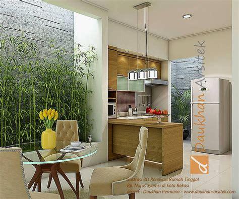 desain eksterior dapur interior ruang makan dan dapur minimalis lokasi di kota