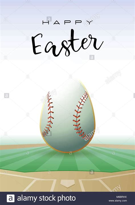 sports easter eggs happy easter sports greeting card a realistic easter egg