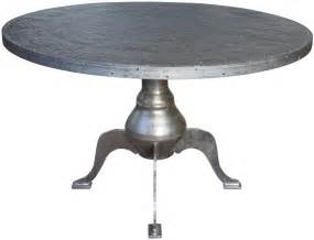 table top dining metal