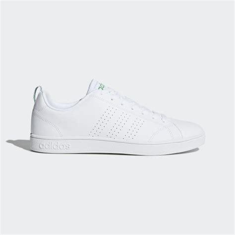 adidas  advantage clean shoes white adidas uk