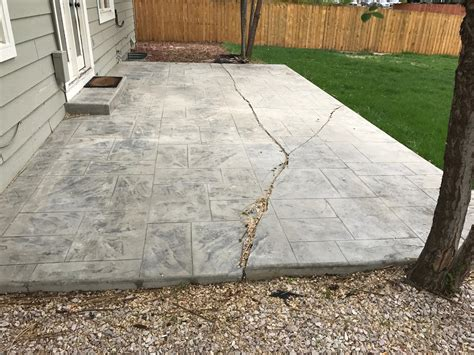 poured concrete patio decorative concrete patios fort collins co pour