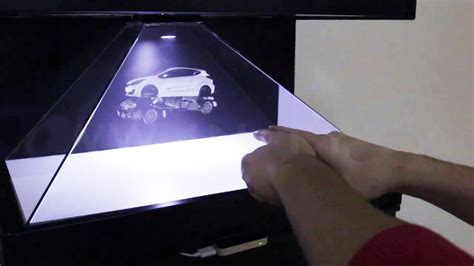 make a bid how to make 3d big hologram for 1 day