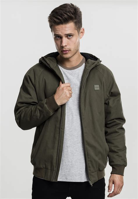Hooded Cotton Jacket hooded cotton zip jacket tb1805