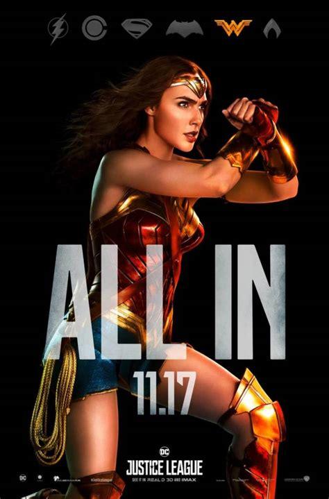 film baru justice league tiap karakter justice league dapat poster baru lagi sang