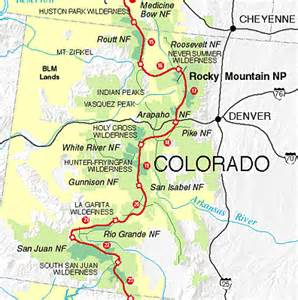 continental divide trail colorado map continental divide trail society cdt in colorado