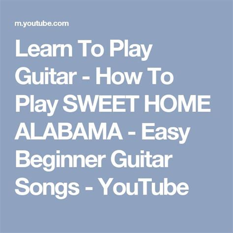 best 25 sweet home alabama guitar ideas on