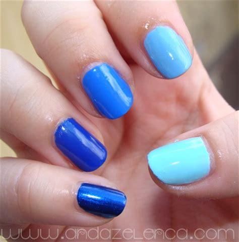 blue ombre nails blue ombre nails anda zelenca