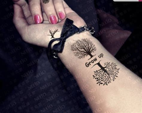 family tree wrist tattoos family tree on wrist pictures to pin on