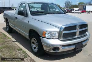 2004 Dodge Power Ram 1500 2004 Dodge Ram 1500 2wd Slt Reg Cab Silver Tow Package 9940