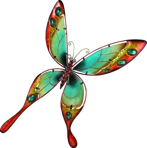 butterfly garden wall outdoor butterfly wall decor metal makes the difference