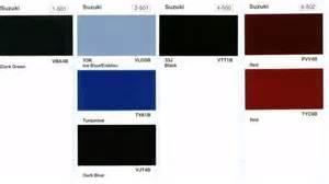 Suzuki Paint Codes Suzuki