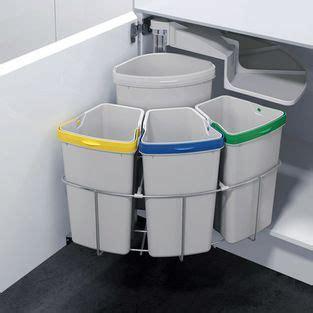 sink recycling bin kitchen trash recycling oko 3 oeko waste center for