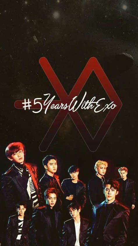 kpop exo wallpaper exo wallpaper exo 5yearswithexo exo wallpaper