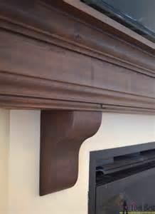 Fireplace Mantel Support Brackets Diy Fireplace Mantel Shelf Tool Belt