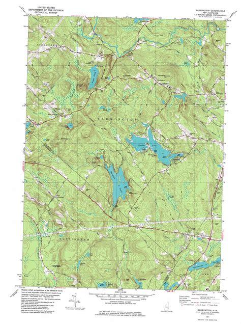Barrington Nh barrington topographic map nh usgs topo 43071b1