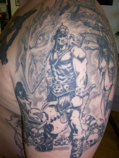 barbarian tattoo designs germanic barbarian tattoos images