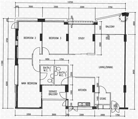 1 Avenue Floor 5 - floor plans for 360 woodlands avenue 5 s 730360 hdb