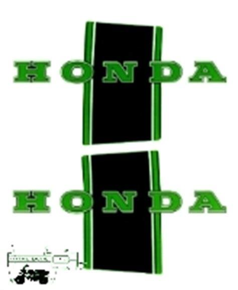 Honda Dax Ab23 Aufkleber by Bauchbinden Kleinerfl 252 Egel Honda Dax Chaly Gorilla