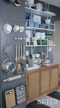 Pegboard Ideas Kitchen by 1000 Ideas About Kitchen Pegboard On Pinterest Storage