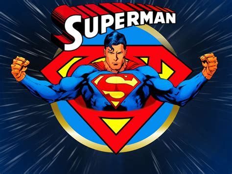 classic superman wallpaper superman warp speed by superman8193 on deviantart
