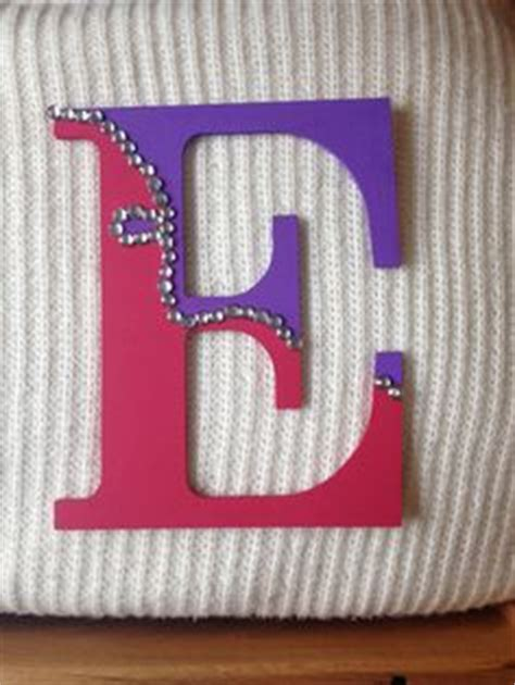 Letter A Decor by 1000 Images About Wooden Decorated Letters On