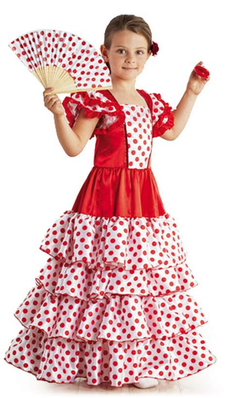 Robe Espagnole Flamenco Fille - robe flamenco fille