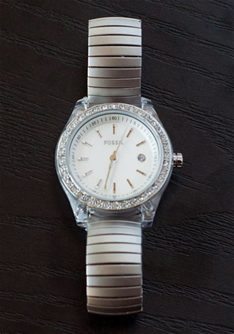 Fossil Silver Combi fossil s watches