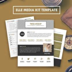 media kit templates media kit template hip media kit templates